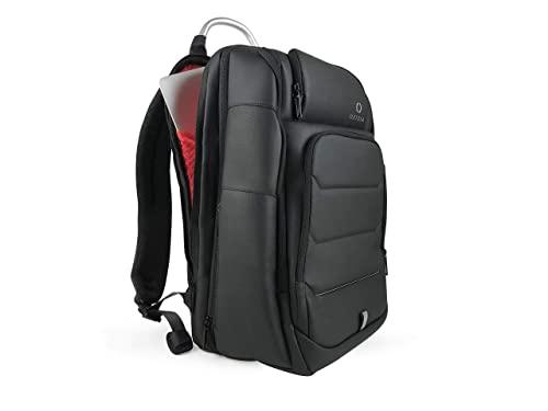 "OXIDIA Mochila Expandible de 25 a 33.5L, de 2 a 5 días de Capacidad | Mochila de Viaje de Negocios | Impermeable Mochila Ordenador Portátil 15,6"" | Puerto USB | TSA Compatible"