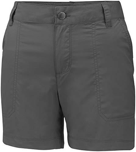 Columbia Shorts für Damen, SILVER RIDGE 2.0 SHORT, Nylon, Grau (Grill), Größe: W42/L5, 1842123