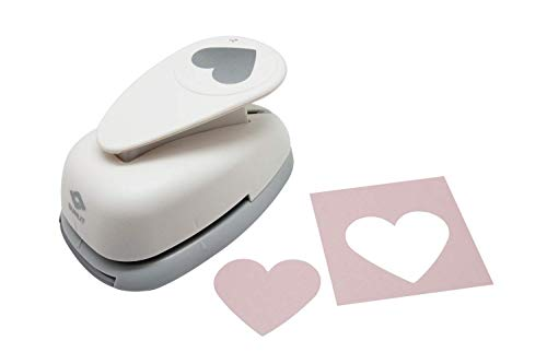 "2""inch Heart Lever Action Craft Punch, Valentine's Day Punch, for Paper Crafting Scrapbooking Cards Arts"