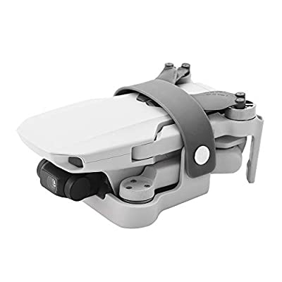 Hensych Propeller Holder Paddle Blade Fixed Stabilizer Protector for Mavic Mini 2/Mavic Mini Drone Sit Base Mount Adapter Propeller Guard Spare Accessories (Gray)