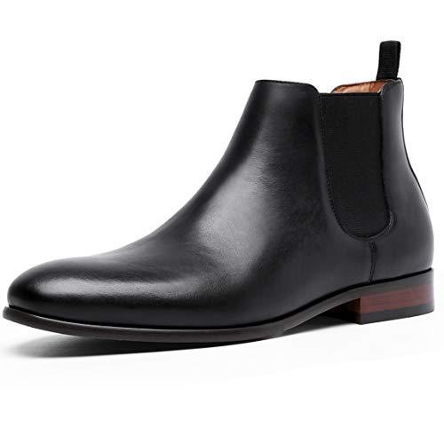 [フォクスセンス] ブーツ ビジネスシューズ チェルシーブーツ サイドゴア ブーツ メンズ 革靴 本革 ブラック 26.0cm 6781-11