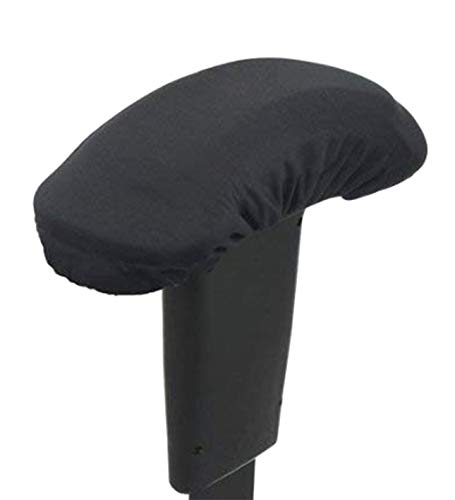"Evoluent Armazing Memory Foam Arm Pads - Fits 6"" to 11"" Long Armchairs (Black)"