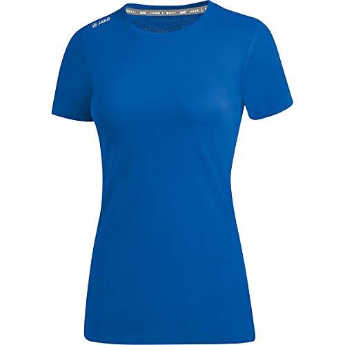 JAKO T-Shirt Run 2.0 pour Femme. XS Bleu Roi