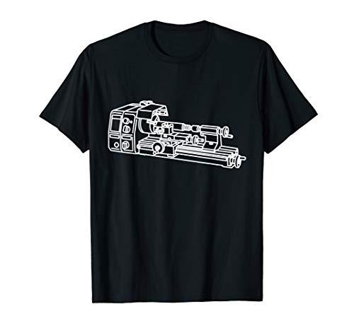 Drehbank - Mechaniker Dreher Drehmaschine Feinwerkmechanik T-Shirt