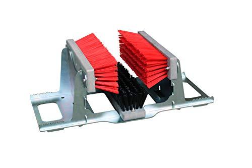 Sport-Thieme Stollen-Cleaner | Besonders stabil und langlebig | Aus dickwandigem Aluminium | Wirksame Reinigung von Fußballschuhen | Maße (LxTxH): ca. 54x33x19 cm