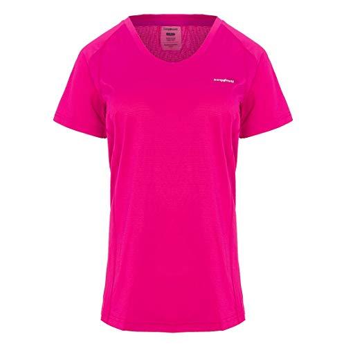 Trangoworld Bocela T-Shirt Femme, Rose, M