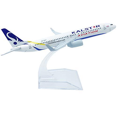 NUOLANDE Flugzeug-Miniaturmodell Indonesien Kaltr 16cm Legierung Flugzeugmodell, 1/400 Maßstab