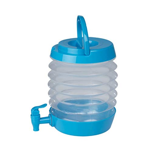 RDI Getränkespender Getränkebehälter Wasserkanister Kanister faltbar Wasserbehälter mit Zapfhahn 3,5L