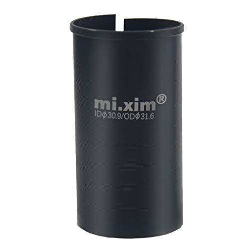 Adaptador de sillín de aleación, Calza 30,9mm 31,6mm, Adaptador de Tubo de...