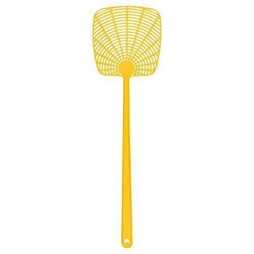 à main plastique MOUCHE/insecte/insectes tapette (Couleurs Variés disponible) - Jaune
