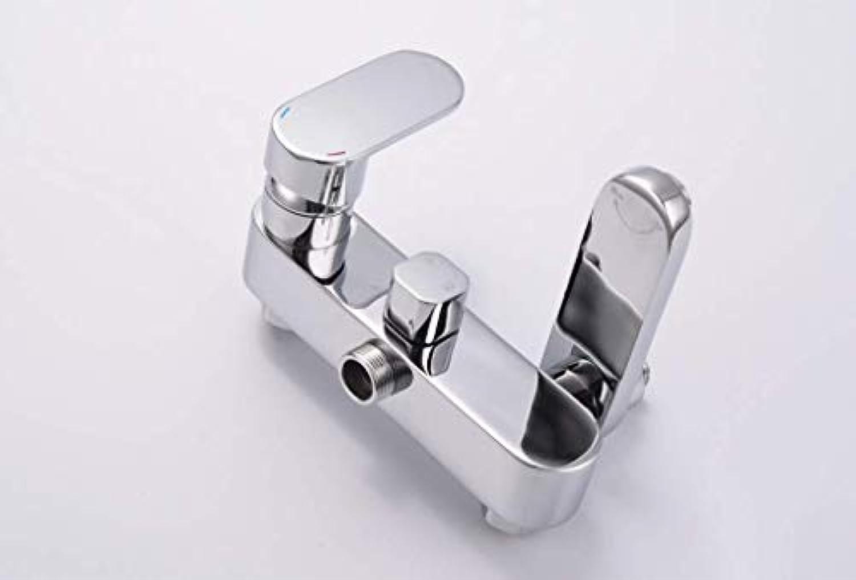 LHW Shower Set Che-Set, WC, Badezimmer Dusche, Multifunktions-Duschkopf, Messing Flach DREI-Gang-Hebe Duschkopf, Grünckte Wand-Duschkopf