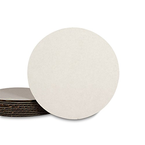 Paper Mart White Cake Cardboard Circles | 10' Round | Pack of 100