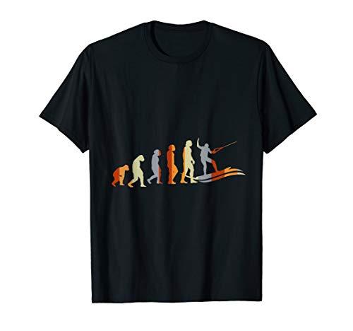 Wakeboarder Wassersport Geschenk Evolution Wakeboarden T-Shirt