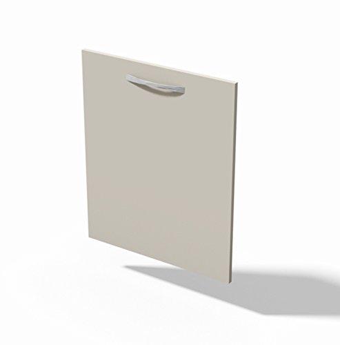 Anta per lavastoviglie - Sportello Modello Quadra Colore Bianco Opaco