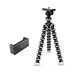 Marklif Gorilla Tripod/Mini Tripod 13 inch for Mobile Phone with Holder for Mobile, Flexible Gorilla Stand for DSLR & Action Cameras,Manufacturer,MLF-HLDR+GRLA-1