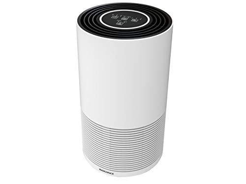 Soehnle Luftreiniger AirFresh Clean 400 mit 4-stufigem Reinigungssystem entfernt bis 99,95{6f8ae4d1a37d67048ff6af090819c6288cd6a90ea5f45477414fbe67e4041267} der Bakterien und Viren, Air Purifier mit Hepa- und Aktivkohlefilter, mit UV-C-Licht ideal für Allergiker