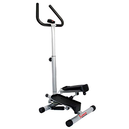 Sunny Health & Fitness NO. 059 Twist Stepper Step Machine w/Handle Bar and LCD Monitor...