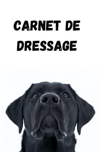 Carnet de dressage: suivi de croissance de votre chien-bilan-entrainement- idée cadeau
