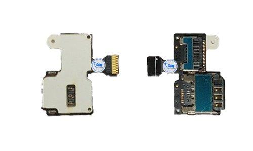 Sim Karte Halter Flex für Samsung Galaxy S4 mini i9195 Card Tray Metal Holder Slot NEU!