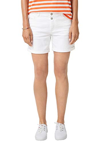 s.Oliver RED LABEL - Pantaloncini da Donna gemellari Bianco 44