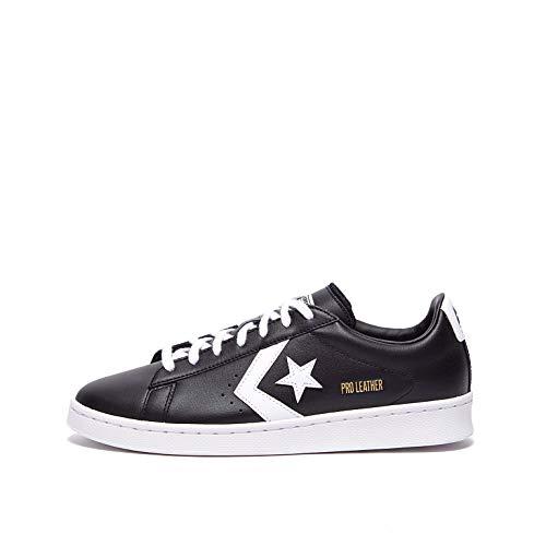 Converse Pro Leather Colorblock-Ox, Chaussure de Piste d'athltisme Homme, Black White White White, 40 EU