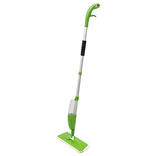 Clean house Balai mop avec réservoir intégré et gâchette - 330 ML - Vert