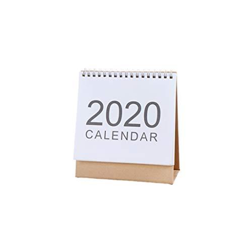 Calendarios Calendarios de Escritorio 2020 Calendario de Escritorio Calendario 2019 mensual del Plan Plan Diario Suministros Calendario Escolar Mediano, Trompeta Calendarios de Pared (tamaño : S)