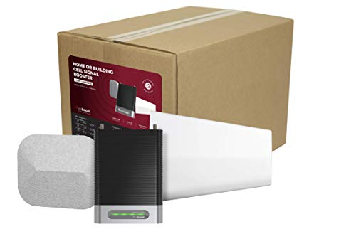 weBoost Home Complete (470145) Cell Phone Signal Booster Kit   Up to 7,500 sq ft   All U.S. Carriers - Verizon, AT&T, T-Mobile, Sprint & More   FCC Approved