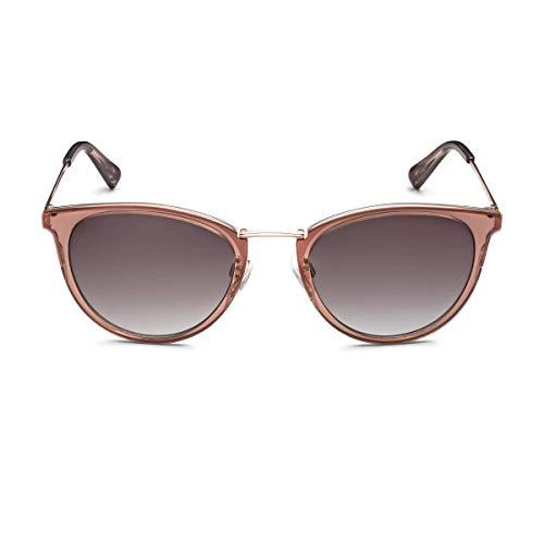 Audi 3111800200 Gafas de Sol para Mujer, Color Dorado y marrón translúcido, 52