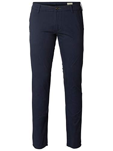 SELECTED HOMME Male Chino SLHPARIS Regular FIT - 3432Navy Blazer