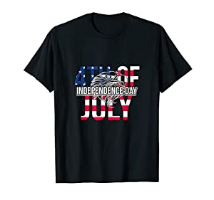 US Happy Independence Day 4th July Flag Eagle for Women Men T-Shirt by US Independence Day July 4th Shirts