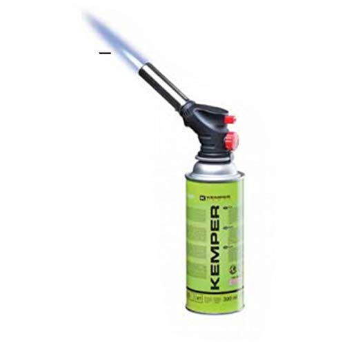 Kemper - Soplete de gas + cartucho de propano butano de 227 g multifunción