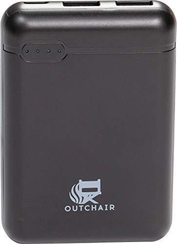 OUTCHAIR Powerbank 5V 10000 mAh für Heizkissen 4-6 Stunden Energie USB Geräte Laden Aufladen