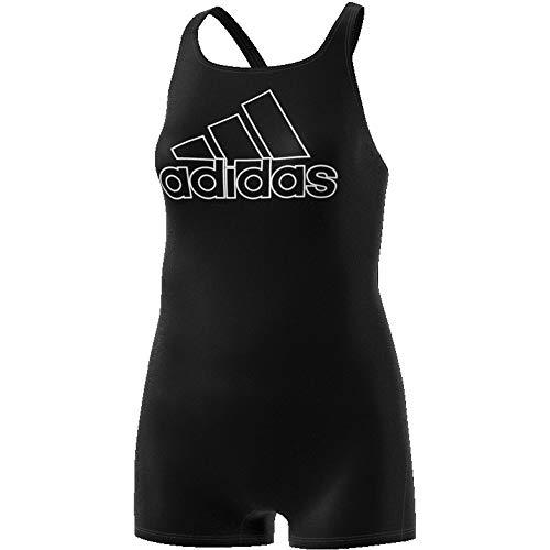 adidas Fit Legsuit Sol Swimsuit, Femme, Noir/Blanc, 48