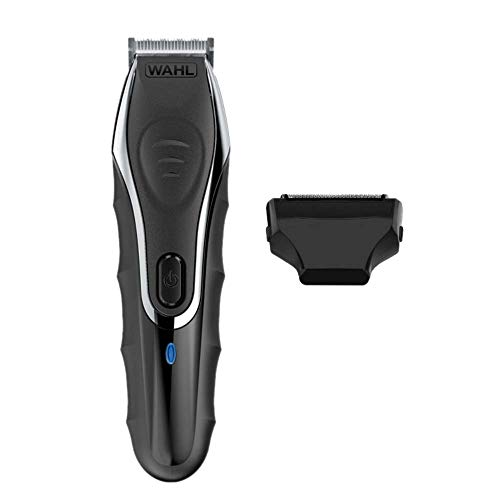 Aqua Blade Rechargeable Wet Dry Lithium Ion Deluxe Trimming Kit with 2 Interchangeable Heads for Shaving, Detailing, Grooming Beards, Mustaches & Body