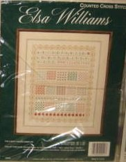 Elsa Williams The Happy Hands Sampler Counted Cross Stitch Kit 02040