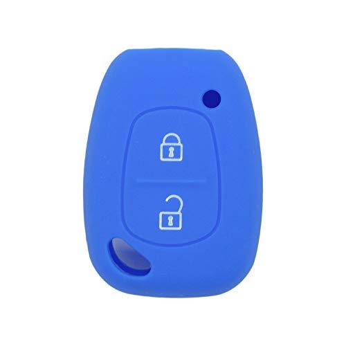 Coque de protection en silicone Brovacs pour clé de voiture à 2 boutons Renault Vauxhall Opel Nissan