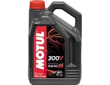 MOTUL(モチュール) 300V RACING KIT OIL 2172H (300V レーシング キット オイル 2172H) 0W30 バイク用100%化学合成オイル 5L[正規品] 11103061