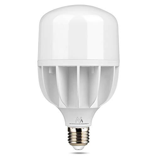 Maclean MCE262 LED gloeilamp 40W E27 lamp koud wit spaarlamp lamp 6500K 230V 4000lm Vervangt 200W, 40 W