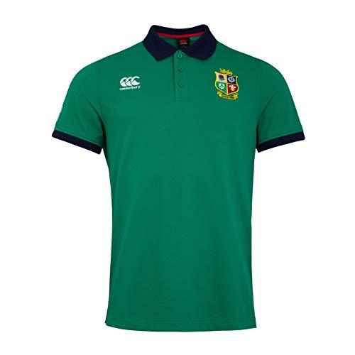 Canterbury Herren Poloshirt British and Irish Lions Rugby Home Nations S Bosporus