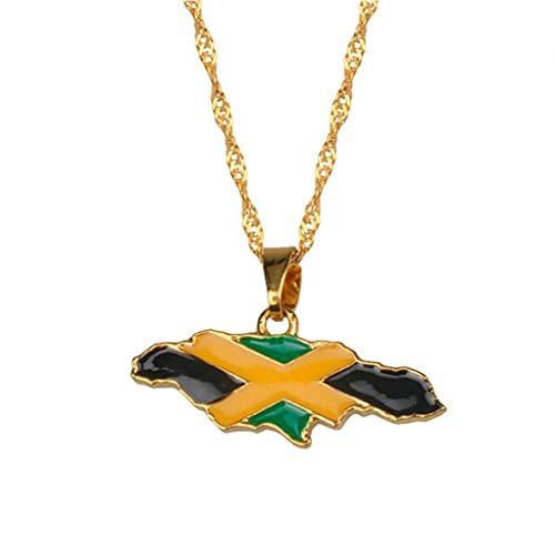Onsinic Collares Pendientes Color Oro Joyas Regalos De Jamaica