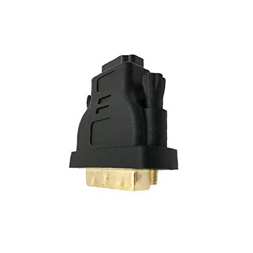 Rrunzfon Profesional DVI-I a HDMI Adaptador Macho a Hembra Adaptador Cable Chapado en Oro HDMI Adaptador convertidor Accesorios electrónicos de Producto