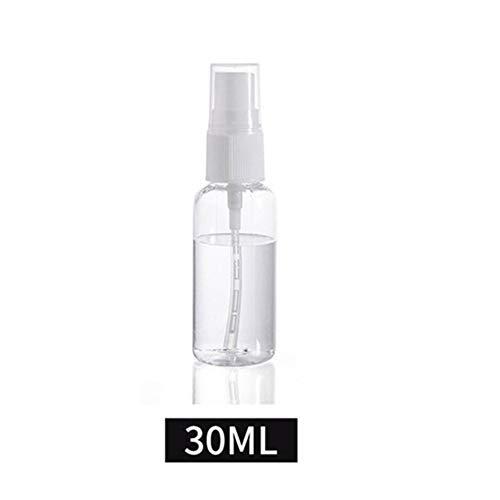ZZYUBB 30 Ml 50 Ml 100 Ml Transparente De Plástico De Perfume Atomizador Pequeño Mini Vaciar El Contenido De Aspersión Recargables Botella Botellas del Recorrido Fijaron Color Al Azar