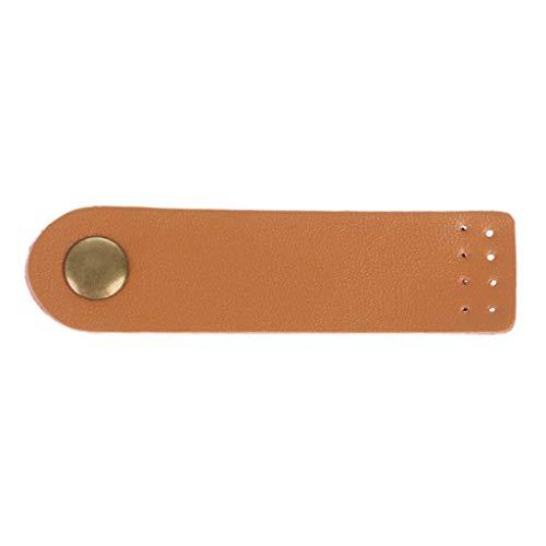 niumanery Leather Bag Buckle Handmade Wallet Card Pack Buckles for DIY Handbag Accessories Yellow