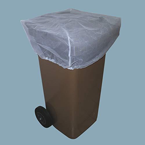 DONET Abdecknetz für 120 l Biotonne Mülltonne Netz ca. 45 x 45 cm Hygiene Schutz vor Insekten und Maden, Polyester