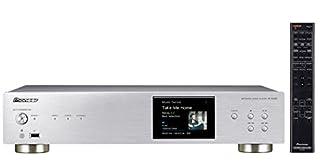 """Pannello frontale in alluminio con schermo LCD 3,5"""" Dual WiFi (Band 5GHz/2,4GHz) Riproduzione a 192kHz/24bit Colore argento"""