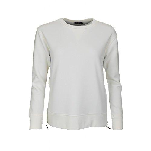 Ralph Lauren - Felpa da donna con zip laterale, colore: Bianco bianco M