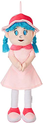 Amazon Brand - Jam & Honey Huggable Doll, Light Pink, 50cms