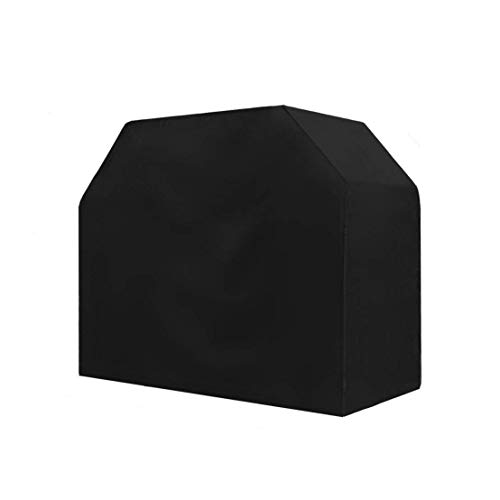 TowenHouse Grill Cover 58 Inch Grill Cover BBQ Grill Cover,Gas Grill Cover for Weber,Light Weight,Water Resistant,Black