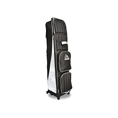 Long Ridge Abdeckung für Golfschlägertasche, 4 Räder schwarz schwarz/Silber Nicht zutreffend